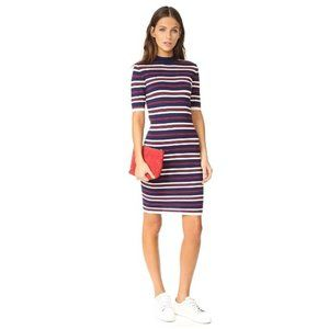 J.O.A. Striped Knit Dress